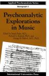 Psychoanalytic explorations in music